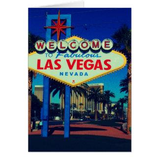 Cartes Accueil vers Las Vegas