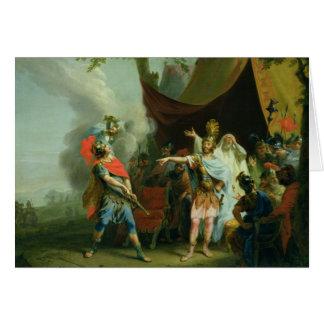 Cartes Achille a un conflit avec Agamemnon, 1776