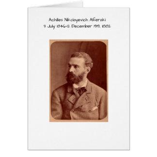 Cartes Achille Nikolayevich Alferaki