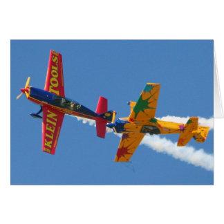 Cartes Acrobaties aériennes gyroscopiques