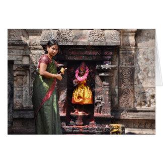 Cartes Acte de foi, Katmandou
