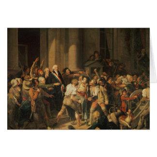 Cartes Acte du courage de Monsieur Defontenay