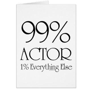 Cartes Acteur de 99%