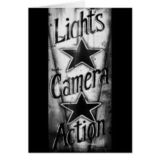 Cartes Action 2 d'appareil-photo de lumières