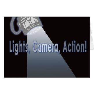 Cartes Action d'appareil-photo de lumières !