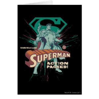 Cartes Action de Superman emballée