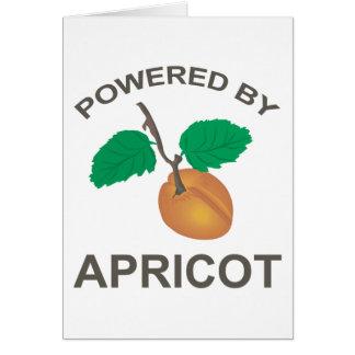 Cartes Actionné par l'abricot