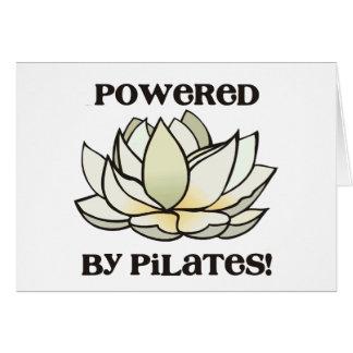 Cartes Actionné par Pilates Lotus