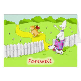 Cartes adieu