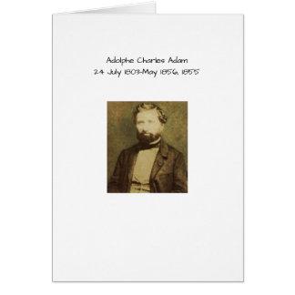 Cartes Adolphe Charles Adam, 1855