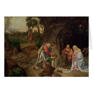 Cartes Adoration des bergers, 1510