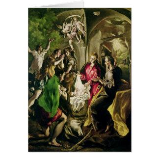 Cartes Adoration des bergers, 1603-05
