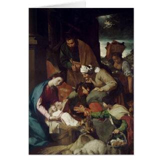 Cartes Adoration des bergers, 1630