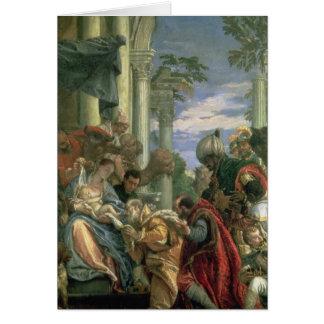 Cartes Adoration des Magi, 1570s