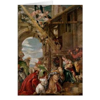 Cartes Adoration des rois, 1573