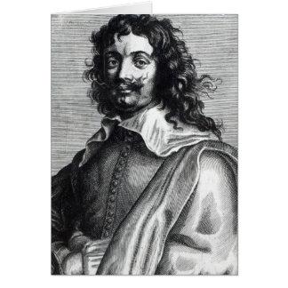 Cartes Adriaen Brouwer, gravé par Edme de Boulonois