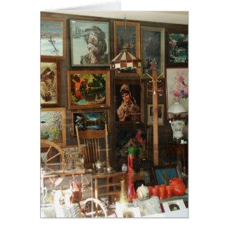Cartes Affichage de fenêtre de magasin antique