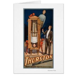 Cartes Affiche de magie de successeur de Thurston Kellar