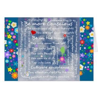 Cartes Affirmations positives spirituelles