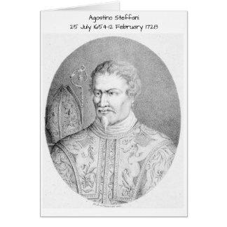 Cartes Agostino Steffani