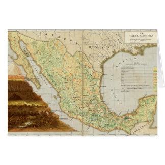 Cartes Agriculture du Mexique