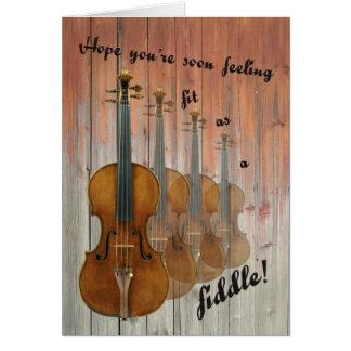Cartes Ajustement comme violon