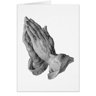 Cartes Albrecht Durer - prière de mains