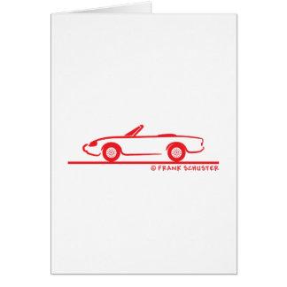 Cartes Alfa Romeo Spider Duetto