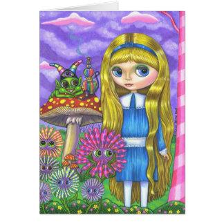 Cartes Alice au pays des merveilles et à Caterpillar
