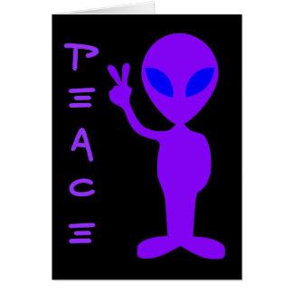 Cartes Alien de paix