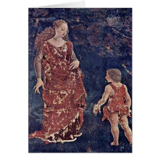 Cartes Allégorie de fertilité par Francesco del Cossa