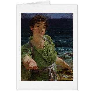 Cartes Alma-Tadema | Una Carita, 1883