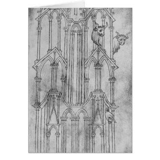 Cartes Altitude de la tour de la cathédrale de Laon