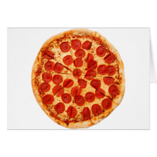 Cartes amant classique de pizza