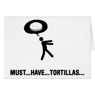 Cartes Amant de tortilla