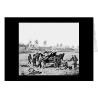 Cartes Ambulanciers 1863 de Zouave