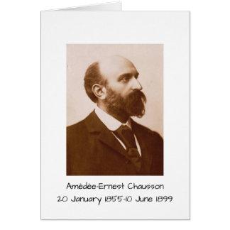 Cartes Amedee-Ernest Chausson