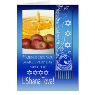 Cartes Ami, année juive de Rosh Hashanah nouvelle -