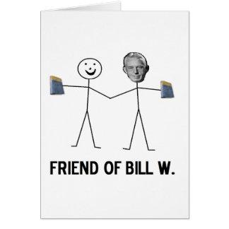 Cartes Ami de Bill W. - célébrez la récupération