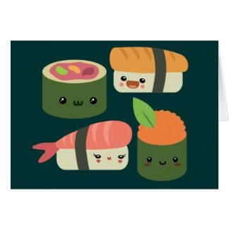 Cartes Amis de sushi
