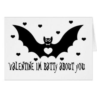 Cartes Amour de batte de Valentine