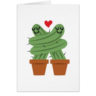 Cartes Amour de cactus