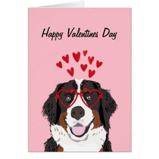 Cartes Amour de chien de Valentines de chien de montagne