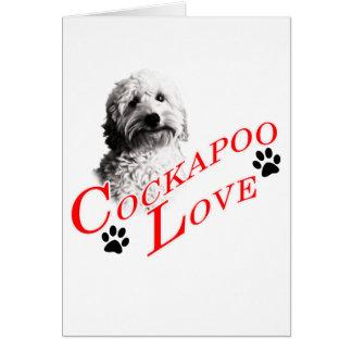 Cartes Amour de Cockapoo