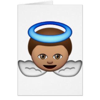 Cartes amour de halo d'emoji d'ange de bébé