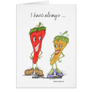 Cartes Amour de poivre