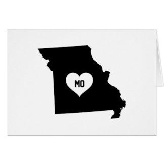 Cartes Amour du Missouri