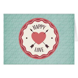 Cartes Amour heureux