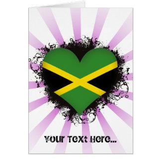 Cartes Amour Jamaïque du cru I