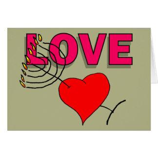 Cartes Amour sur Chanukah 101